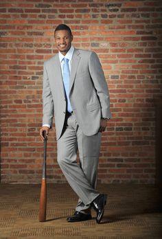 Baltimore Orioles outfielder Adam Jones for the Sun Magazine