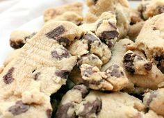 Biscoff Shortbread Chocolate Chip Cookie Crumble
