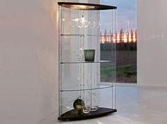 Modern Glass Curio Gracia by Tonin Casa