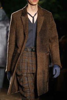 Ermenegildo Zegna Fall 2015 Menswear Fashion Show Details