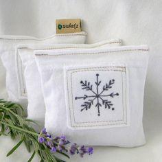lavender sachet dryer pillow found at zJayne on Etsy.