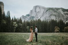 Romantic Yosemite Valley elopement ideas