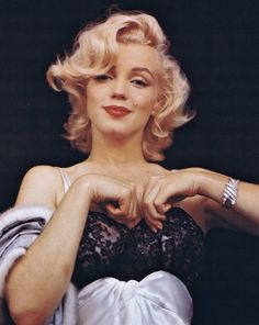 "Marilyn Monroe — ""If you can make a girl laugh, you can make her do anything."""