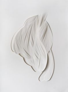 Mathilde Roussel ~ Ecorce 10, 2013 (cut paper)