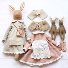 The Story of Katy Livings, or the Woman Who Defeated the Disease for the Opportunity to Craft – Livemaster Doll Sewing Patterns, Sewing Dolls, Softies, Muñeca Diy, Handmade Stuffed Animals, Bunny Toys, Bunnies, Fabric Toys, Cute Toys
