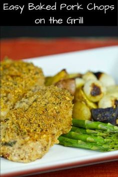 Breaded boneless pork chops baked on the grill served with onions and potatoes. This makes one fine lip smack-in Baked Pork Chop recipe.
