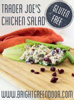 Trader Joe's Wine Country Chicken Salad Gluten Free