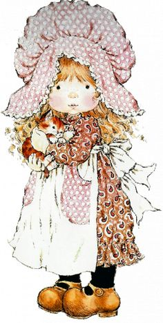 gifs et tubes sarah kay - Page 8 Sarah Key, Holly Hobbie, Mary May, Decoupage, Image Digital, Cute Illustration, Illustrations, Vintage Pictures, Vintage Cards