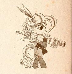Steampony5- Trixie by bunnimation.deviantart.com on @deviantART