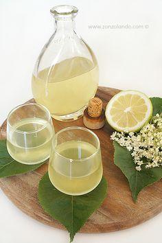 Elderflower, Limoncello, Non Alcoholic Drinks, Beverages, Homemade Juice Recipe, Fruit Sorbet, Just Wine, Tea Cocktails, Edible Wild Plants