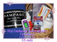Flu Outbreak Survival Kit Flash Giveaway!