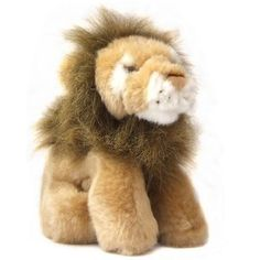 This super cute & cuddly Lion soft toy from Dowman Soft Touch is made from the highest quality plush materials and 5.1 inch (13cm) tall.