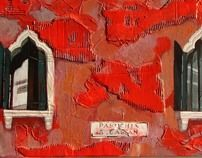 Venice Windows by Iva Ivanova, via Behance Painting & Drawing, Venice, Concept Art, Behance, Windows, Fine Art, Drawings, Illustration, Creative