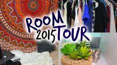 Room Tour 2015: Boho and Tumblr Inspired #room #tour #youtube #diy #hipster #tumblr