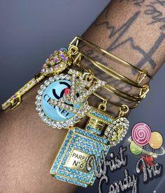 Arm Candy Bracelets, Apple Watch Bracelets, Bangle Bracelets With Charms, Bangles, Cute Jewelry, Jewlery, Pink Bling, Pandora Jewelry, Luxury Jewelry