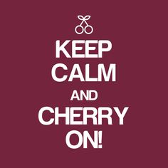 Wenn es mal stressig wird... When times get tough  #cherryplus #keepcalm #carryon #antioxidants #relax #cherry #vegan #natural #fruit #powerfruit