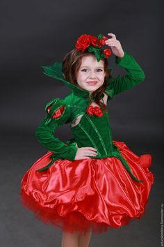 Childs rose costume. Купить или заказать Костюм розы в интернет-магазине на Ярмарке Мастеров. Карнавальный костюм розы для девочки комплектация: платье, болеро, шляпка размеры 134-146+400…