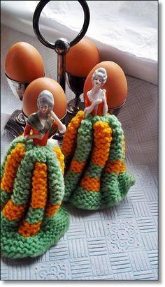 Half Doll Egg Cosy