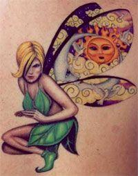 Latest Fairy Tattoo
