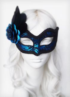 Shimmering Black And Silver Masquerade Mask With Rhinestones Luxury Venetian Style Masquerade Ball Mask In Black And Silver With Frill