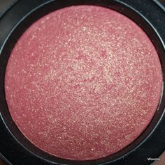 MAC blush in GLEEFUL. It's actually pretty stunning! #maccosmetics