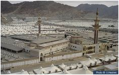 Masjid al-Khayf This masjid is located at the foot of a mountain in the south of Mina, close to the smallest Jamarat. It was at this spot that the Prophet (peace and blessings of Allah be on him) and numerous other Prophets before him performed salat.