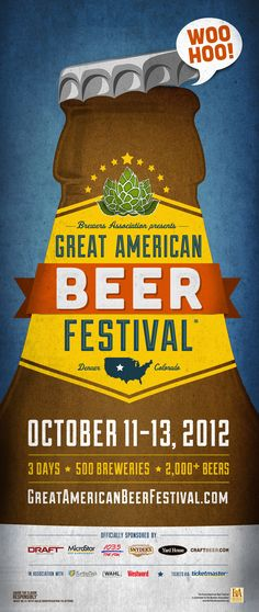 Great American Beer Festival. Who's jealous that her boyfriend is going to this (this girl!)