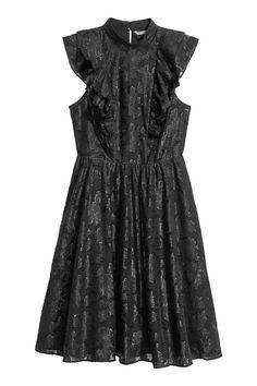 Żakardowa sukienka   H&M