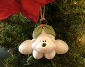 Polar Bear by countrycupboardclay on Etsy Christmas Lights, Christmas Tree, Christmas Ornaments, Polar Bear Christmas, Pasta Flexible, Holiday Time, Twinkle Twinkle, Polymer Clay, Crafty