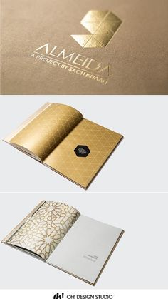 High-end brochure-design for luxurious residential property in Mumbai by OH! Design Studio- A niche graphic design studio in India