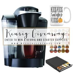 Don't forget to enter the giveaway to win a Keurig and other fun fall goodies! :D September's Big Keurig Giveaway http://mysocalledchaos.com/2016/09/septembers-big-keurig-giveaway.html