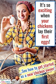 Tips For Raising Chickens For Beginners - Everything you need to know BEFORE buying egg laying chickens! How much space each chicken is required   How many chickens to a coop   How many chickens per feeder and waterer   The best backyard chicken breeds for eggs   How to keep your chickens healthy. Beginner tips for raising backyard chickens from someone who's been raising chickens for over 20 years!