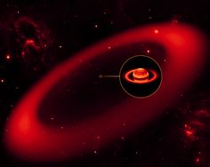 New, Massive Ring Discovered Around Saturn. Spitzer Space Telescope. Published 06/10/2010