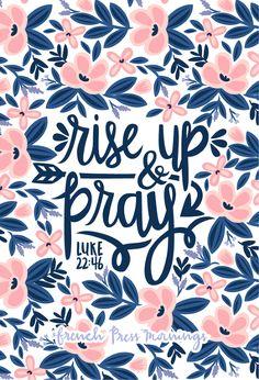 "French+Press+Mornings+-+Luke+22:46+""Rise+Up+"