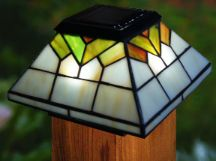 Add style to your deck, patio, fence or porch railing with these Wellington Solar Post Cap Lights.  http://www.mysolarshop.com/wellington-solar-post-cap-lights-wg322