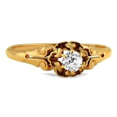 14K Yellow Gold The Paris Ring