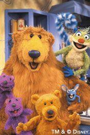 """Bear in the Big Blue House :) I liked shadow. """"where o where o where is shadoooow"""""""