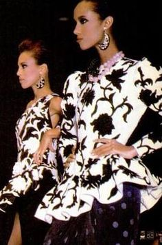 Fashion icon from the 70's Alva Chinn. Another groundbreaking African-American supermodel, Alva Chinn was once the face of Halston, at a time when fashion houses were not typically using black models. She went on to appear in several blockbuster movies like Bright Lights, Big City and Regarding Henry.