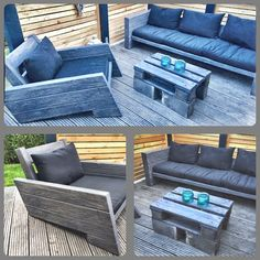 Perfekt Lounge Möbel Garten Terrasse Terrassenüberdachung Gartenmöbel Sessel Couch  Outdoor Wood Design