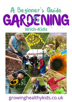 A Beginner's Guide To Gardening With Kids is a great Ebook that will give you all the tips, advice and ideas to get out in the garden with your kids. From toddlers to teenagers there are ideas for everyone. Quick and easy activities that are all but Activities For 2 Year Olds, Indoor Activities, Nature Activities, Family Activities, Gardening Courses, Gardening Tips, Container Gardening, Diy Garden Projects, Projects For Kids