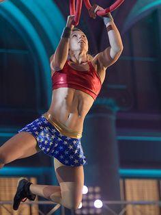 WATCH: American Ninja Warrior Star Jessie Graff in the LAFinals