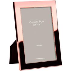"""Addison Ross Rose Gold Photo Frame - 5x7"""" ($20) ❤ liked on Polyvore featuring home, home decor, frames, 5x7 picture frames and 5x7 frames"""