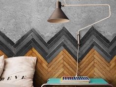 Wall effect wallpaper FLOOR by Wall