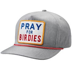 G FORE s Pray For Birdies Cap is crafted from poly cotton twill fabric    mesh 3b08175c6e17