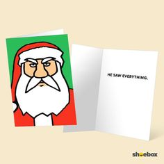 Funny holiday cards from our friends at Shoebox.