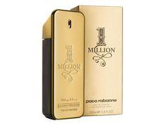 1 MILLION 1 Million , El oro, materia predilecta de Paco Rabanne, reaparece aquí en un frasco asombroso en forma de lingote de oro, numerado y labrado. Dandy con pinta de rufián, el modelo Matt Gordon es el icono de 1 Million. Difícil de catalogar, 1 Million es un perfume singular donde se combinan notas frescas, efluvios aromáticos y especiados, sensación de fruta jugosa, pero también notas de flores, de maderas cálidas y una impronta de cuero suave.