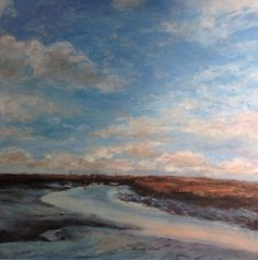 Deserted Mooring by Molly Garnier British Artists, Clouds, Gallery, Painting, Outdoor, Outdoors, Roof Rack, Painting Art, Paintings