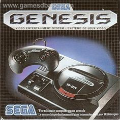 "SEGA GENESIS   IMHO one of the most ""metal"" gaming systems of all time."