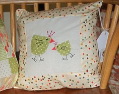 Little easter chicken cushion