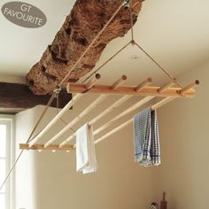 laundrey pulley - ceiling clothes dryer